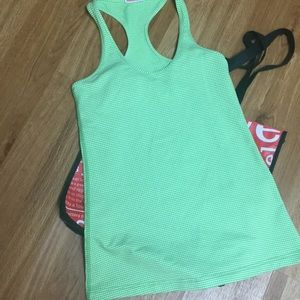 Green/white CRB tank